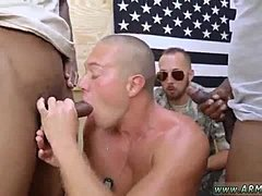 Gay military men masturbating and army fucking boy Staff Sergeant