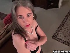 Women over 40 are into seductive leggings during XXX Tube
