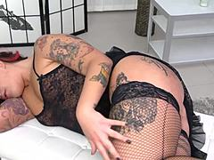 Stella - darling Italian mama acquires double pierced Mature Porn