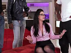 India Summer - awesome MILF receives huge ebony johnsons Mature XXX