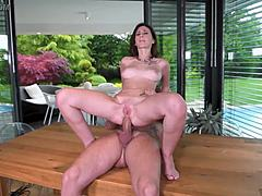Humble anal thrusting leaves gina ferocious' anal opening destroyed